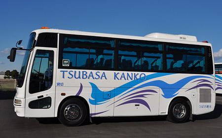 つばさ観光 小型バス(側面)
